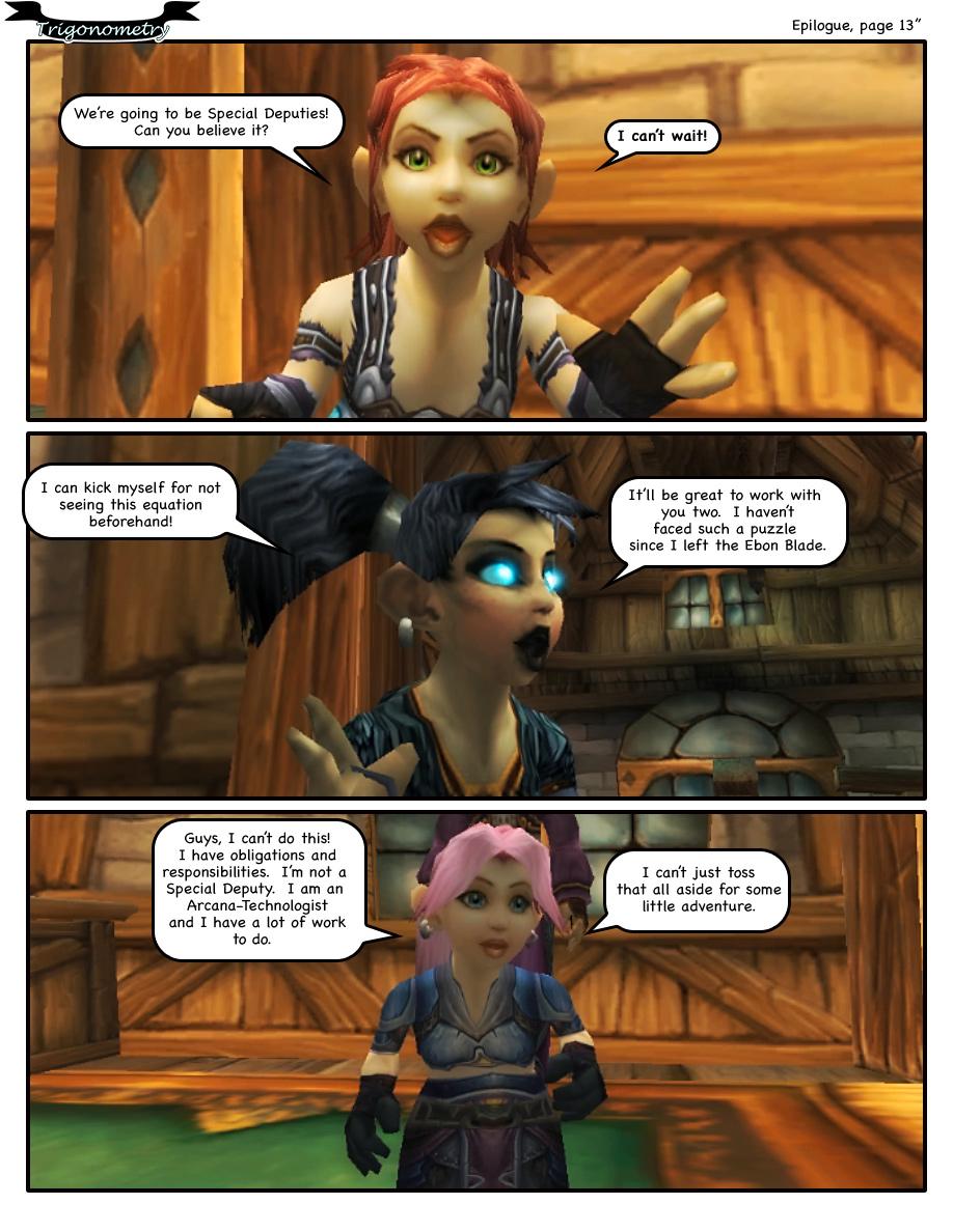 Epilogue, page 13